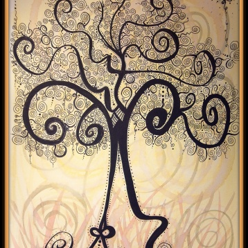 The Flow, Ink & Watercolor