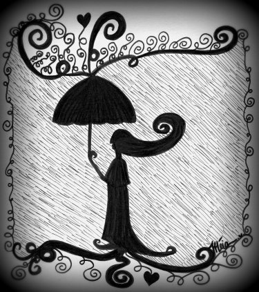 The Lady and The Rain