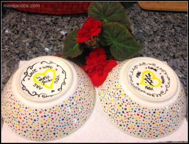 Dot dot bowls!